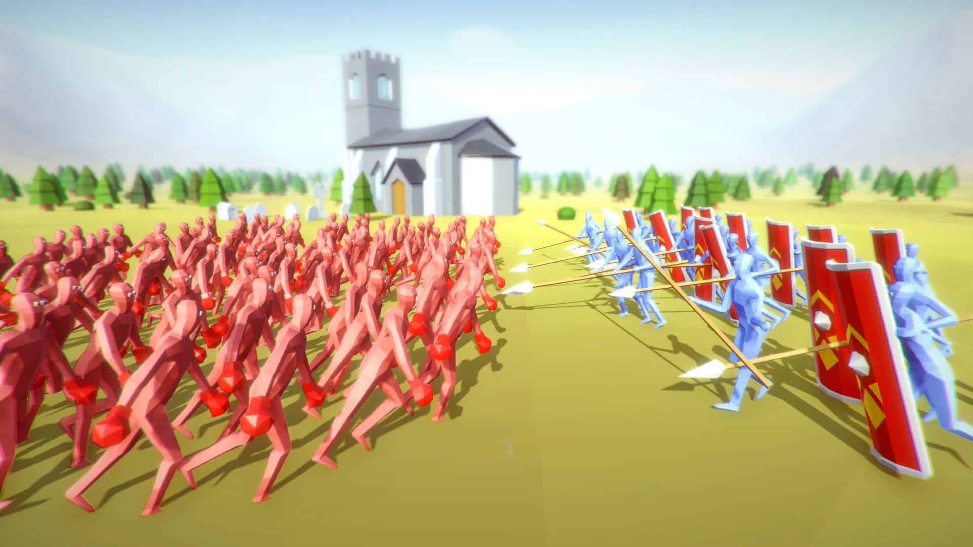 Totally Accurate Battle Simulator gioco pc
